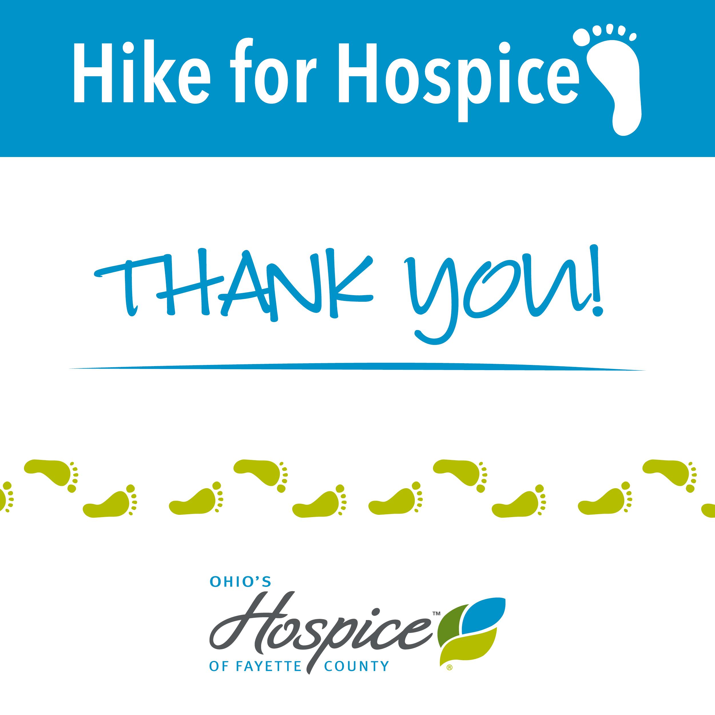 Hospice Hike A Success – We Thank You!